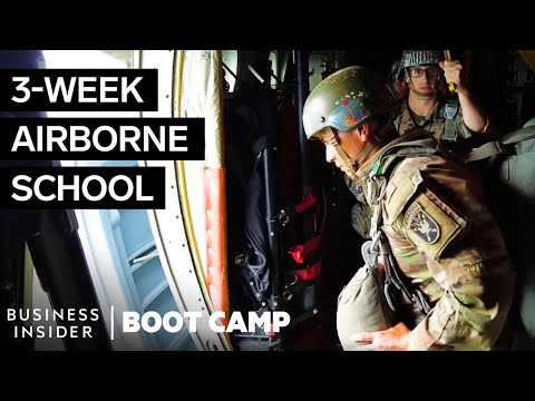 What Army Paratroopers Go Through At Airborne School | Boot Camp
