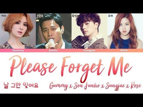 Download Rose Blackpink Son Junho Sungjae Gummy Please Forget Me Han