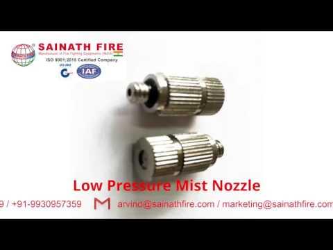 Low Pressure Mist Nozzle