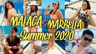 MALAGA + MARBELLA Spain Summer 2020 -4 Days Travel Vlog /Filipino in Spain /OFW
