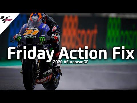 MotoGP ヨーロッパGP 金曜日に行われたフリープラクティスのダイジェスト動画
