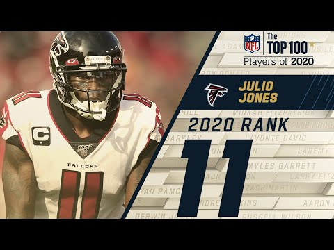 #11: Julio Jones (WR, Falcons) | Top 100 NFL Players of 2020
