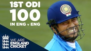 Sachin Tendulkar's 1st ODI Century In England Against England - Highlights