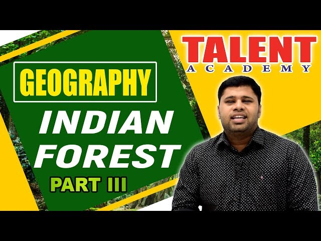 Kerala PSC Indian Geography Questions | Forests-3