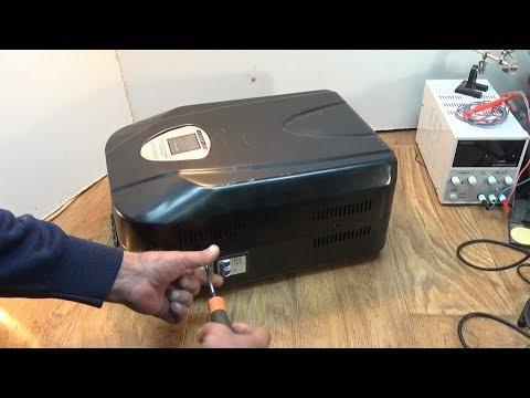 Ремонт стабилизатора напряжения Luxeon 10000VA