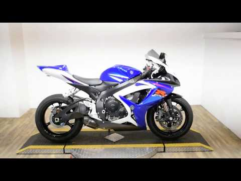 2007 Suzuki GSXR 750 in Wauconda, Illinois - Video 1