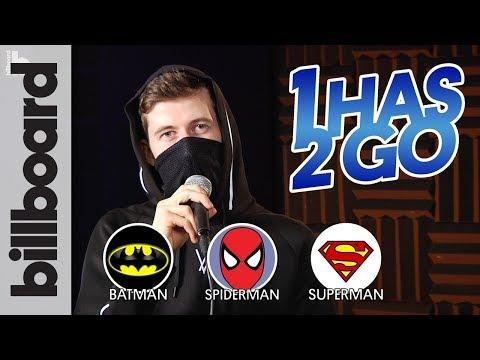 Batman, Spider-Man, or Superman? Alan Walker Plays 1 Has 2 Go! | Billboard