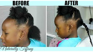 How I Stretch My Daughters Type 4 Hair | Kids Natural Hair Care