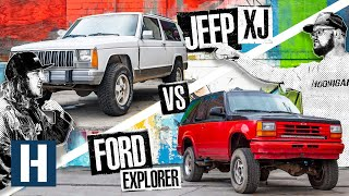 Build & Battle: Jeep XJ vs Ford Explorer, Which Truck Will Be the Best Offroad Racer? (EP.1)