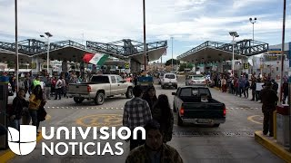 GASOL - Desabastecimiento total de gasolina en algunas zonas de la frontera mexicana encrudece las protestas