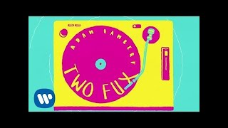 Adam Lambert - Two Fux [Lyric Video]