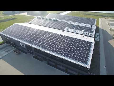 Solar panels at our Captain Calla facility!