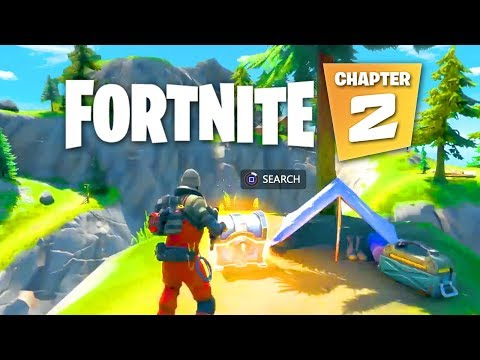 Fortnite CHAPTER 2 GAMEPLAY - NEW Map, Skins + Battlepass!