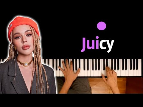 INSTASAMKA - Juicy ● караоке | PIANO_KARAOKE ● ᴴᴰ + НОТЫ & MIDI