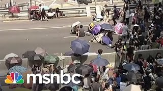'Umbrella Revolution' Grows In Hong Kong | msnbc thumbnail