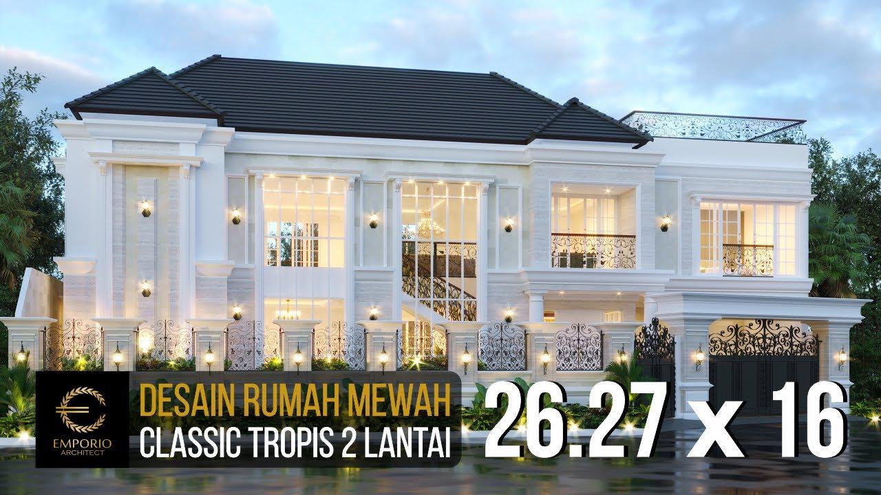 Video 3D Mr. Anto Classic House 2 Floors Design - Bandung, Jawa Barat