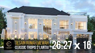 Video Desain Rumah Classic 2 Lantai Bapak Anto di  Bandung, Jawa Barat