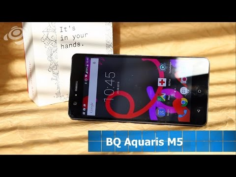Youtube Video BQ Aquaris M5 16 GB - 2 GB RAM in white