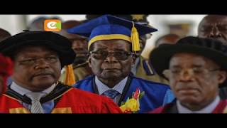 Mugabe makes first public appearance since military take over