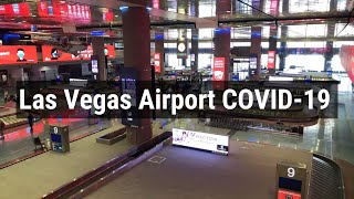 Flying During the Pandemic from Las Vegas McCarran Airport July 2020