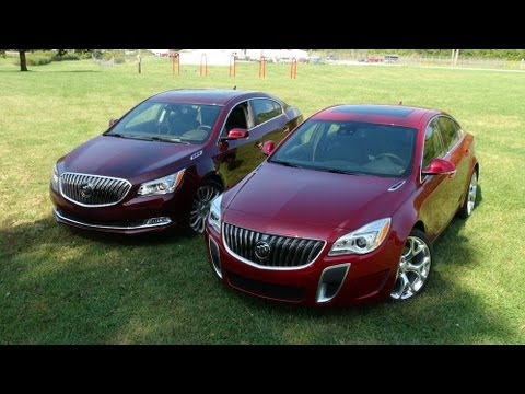 2014 Buick Regal GS vs LaCrosse 0-60 MPH Review