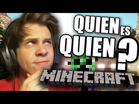 QUIEN ES QUIEN? | Minecraft Edition