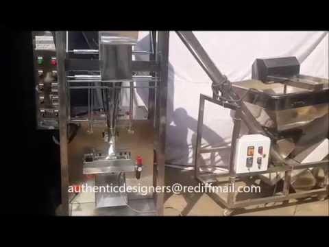 Automatic Foam Fill Seal Machine With Screw Feeder