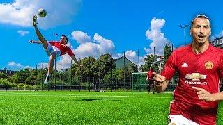 ZLATAN IBRAHIMOVIĆ FUßBALL CHALLENGE!!