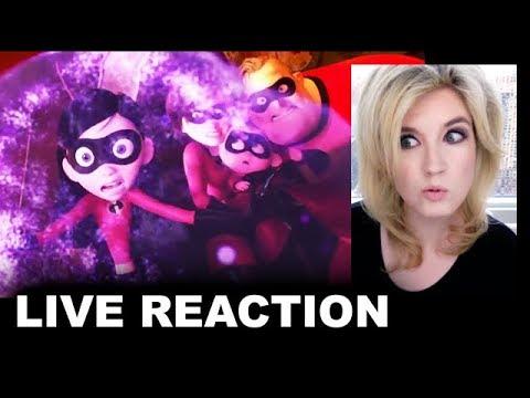 The Incredibles 2 Trailer REACTION