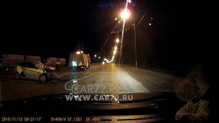 ДТП с Яндекс.Такси в Тюмени