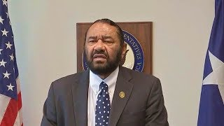 Rep. Al Green News conference on rising tensions with North Korea  Aug 9, 2017  Trump North Korea