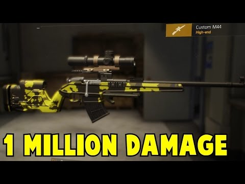 The Division 1 Million + Damage Weapon