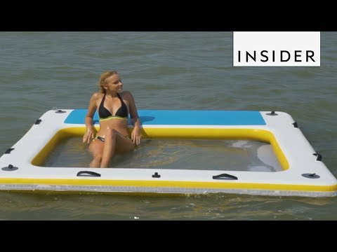 Water Raft Is Basically The World's Greatest Lounge