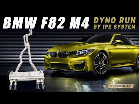 The iPE Titanium exhaust for BMW F82 M4 - Dyno Run