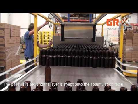 Manual Bulk Depalletizer Manual Bulk Depalletizer (half pallets)