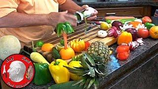 Fancy Vegetable Garnishes,Food Decorations,buffet Garnishes,radish Roses,holiday Garnishes,fruit