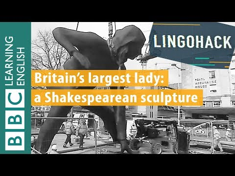 Britain's largest female sculpture: Lingohack - authentic news stories made easy