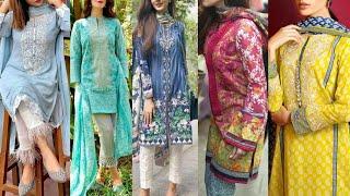 60+ Cotton Lawn Summer Dress Designs 2020/Outclass Designers Summer  Outfits