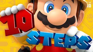 How to Make Your First Super Mario Maker 2 Level | Game Maker