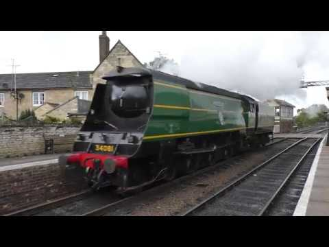 34081 '92 Squadron' & 60009 'Union of South Africa' on the N…