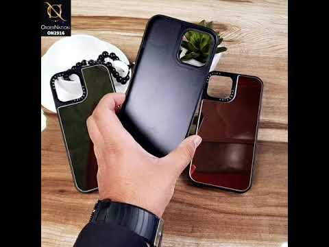 iPhone XS / X - Golden - Fabulous Mirror Shine Soft Case