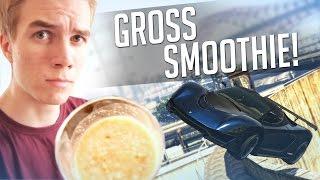 GTA 5 Stunts: Gross Smoothie Stunt Challenge! - (Funny Moments)