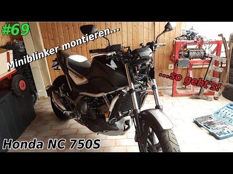 Werkstatt | Vordere Miniblinker montieren | Teil 1 | Honda NC 750S | Mr. Moto