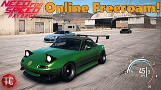 Need For Speed Payback: NEW UPDATE! ONLINE FREEROAM GAMEPLAY #1 | Drifting/Cruise/Funny Moments