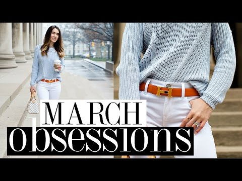 MARCH FAVORITES 2017 | Luxury, Beauty, Health & Lifestyle Obessions | Shea Whitney