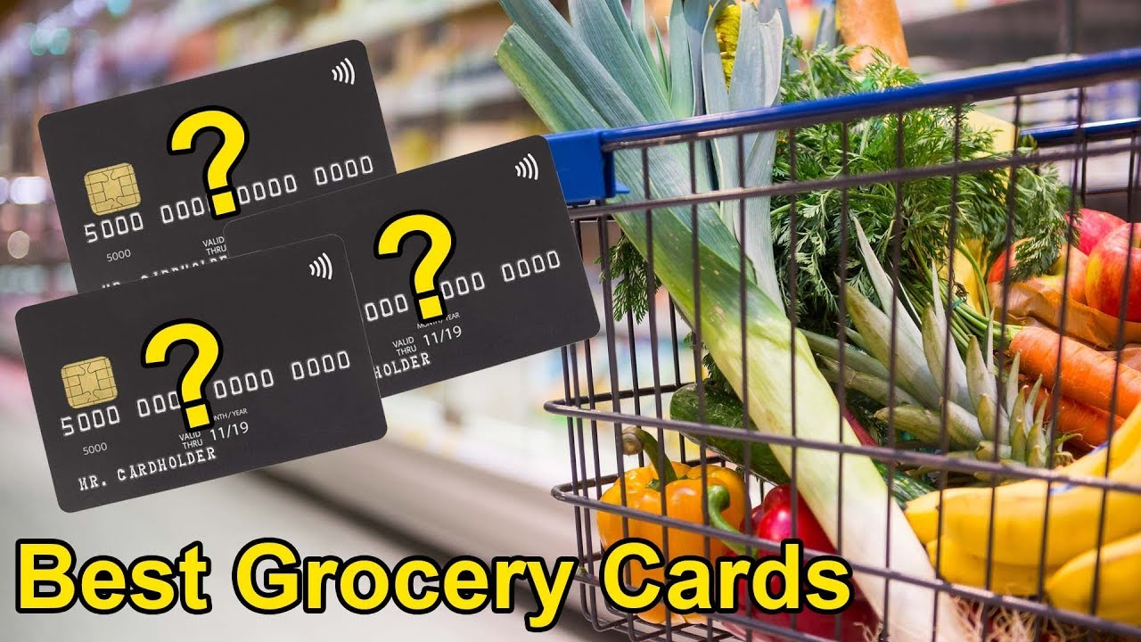 Finest CHARGE CARD For GROCERY COSTS