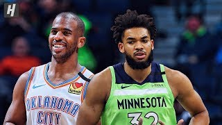 Oklahoma City Thunder vs Minnesota Timberwolves - Full Highlights | January 25 | 2019-20 NBA Season