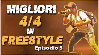 Migliori 4/4 in FREESTYLE (Episodio 3) - Mix Battle 2019
