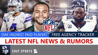 NFL News & Rumors: Latest On Dak's Contract, Jadeveon Clowney, OBJ Trade?, AB + Free Agency Tracker