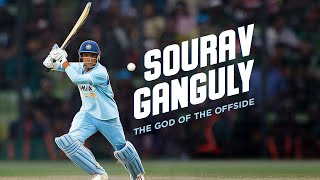 Sourav Ganguly: The God Of The Offside | Stylish Left Handers | #AllAboutCricket